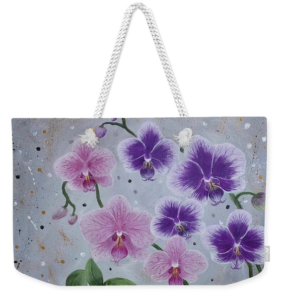Orchids Galore Weekender Tote Bag