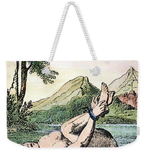 Ordeal By Water Weekender Tote Bag