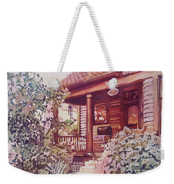 Oregon City Porch Weekender Tote Bag
