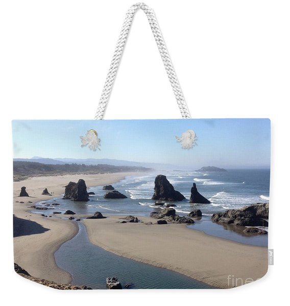 Oregon Coast Sea Stacks Weekender Tote Bag