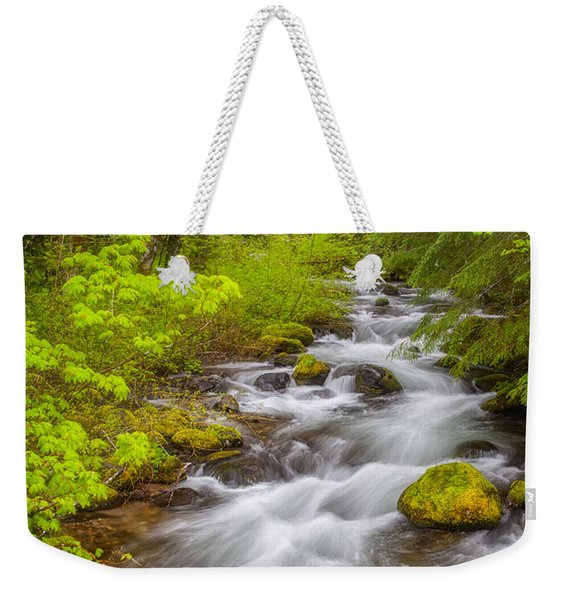 Oregon Creek Weekender Tote Bag