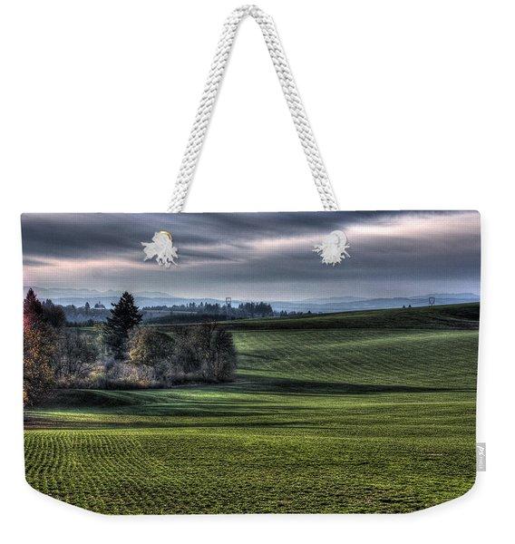 Oregon Field Weekender Tote Bag