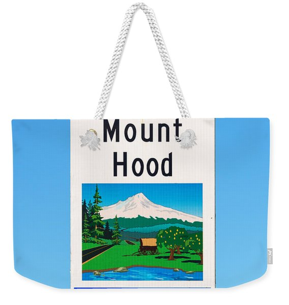 Oregon Scenic Byway Weekender Tote Bag
