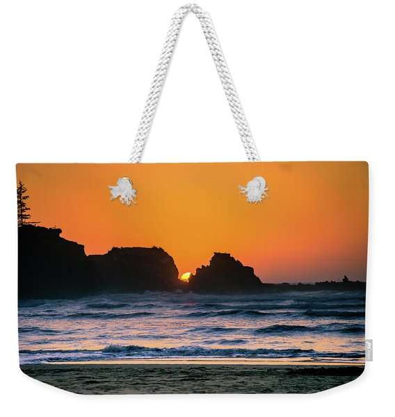 Oregon Sunset Weekender Tote Bag