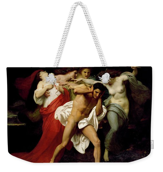 Orestes Pursued By The Furies Weekender Tote Bag