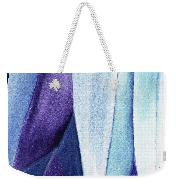 Organic Abstract By Nature Iv Weekender Tote Bag