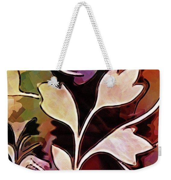 Organic Autumn Weekender Tote Bag