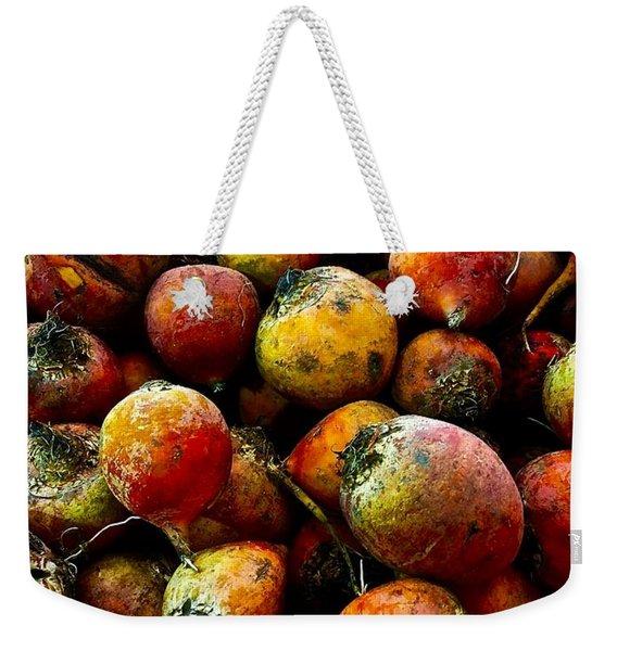 Organic Beets Weekender Tote Bag
