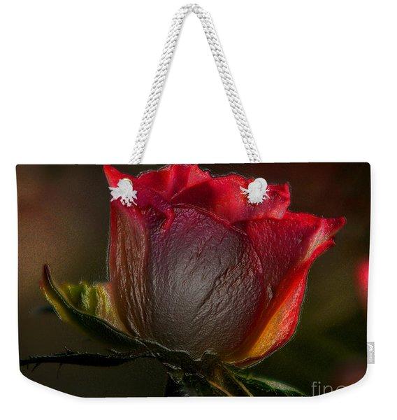 Organic Rose Weekender Tote Bag