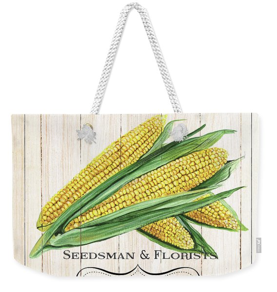 Organic Seed Packet 4 Weekender Tote Bag