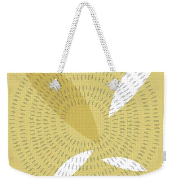 Organic Spirals And Leaves Weekender Tote Bag