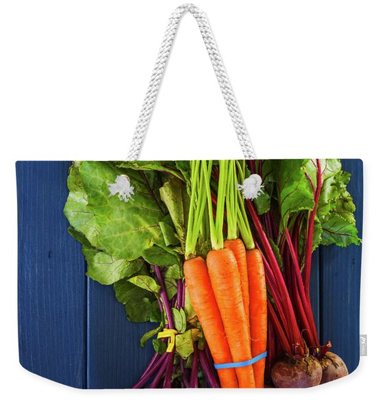 Organic Vegetables Weekender Tote Bag