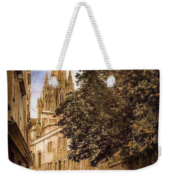 Oxford, England - Oriel Street Weekender Tote Bag