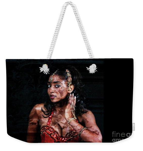 Orient Meets Baroque Weekender Tote Bag