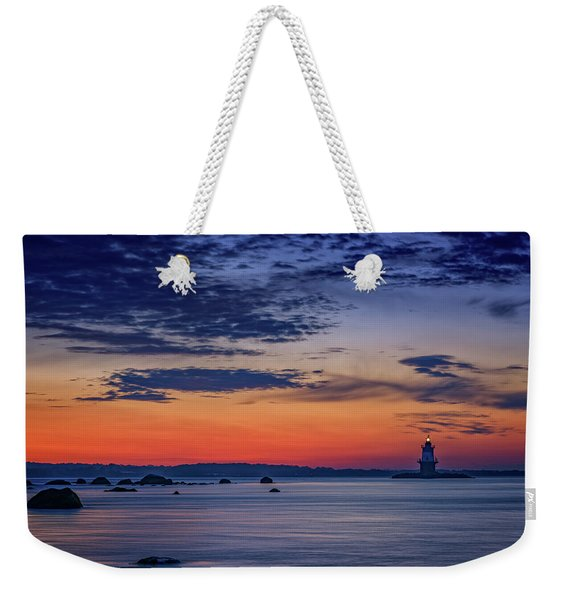 Orient Point, Ny Weekender Tote Bag