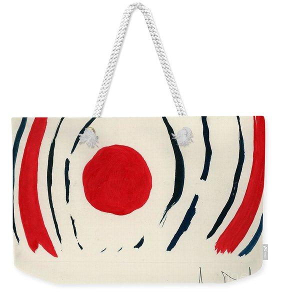 Oriental Sun Weekender Tote Bag