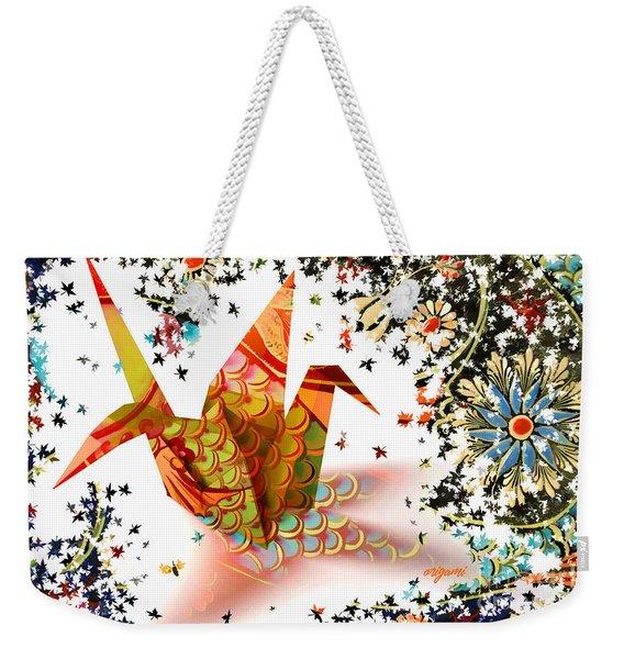 Origami 2017 Weekender Tote Bag