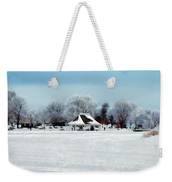 Orillia Winter Weekender Tote Bag