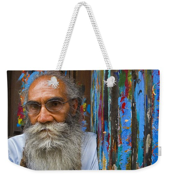 Weekender Tote Bag featuring the photograph Orizaba Painter by Skip Hunt