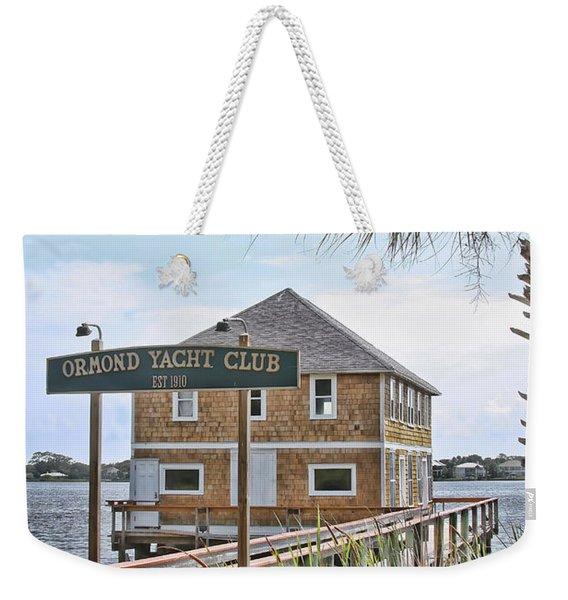 Ormond Yacht Club Weekender Tote Bag