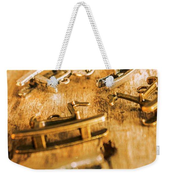 Ornate Rocking Horse Memoirs  Weekender Tote Bag