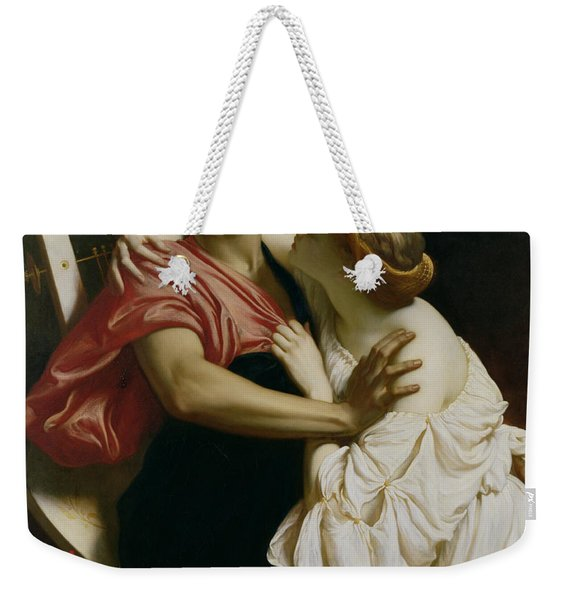 Orpheus And Euridyce Weekender Tote Bag