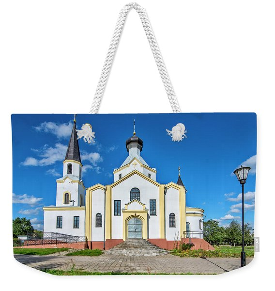 Orthodox Church Of The Exaltation Of The Holy Cross  Weekender Tote Bag