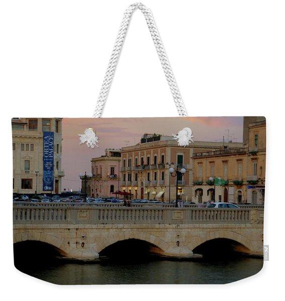 Ortygia Bridge Weekender Tote Bag