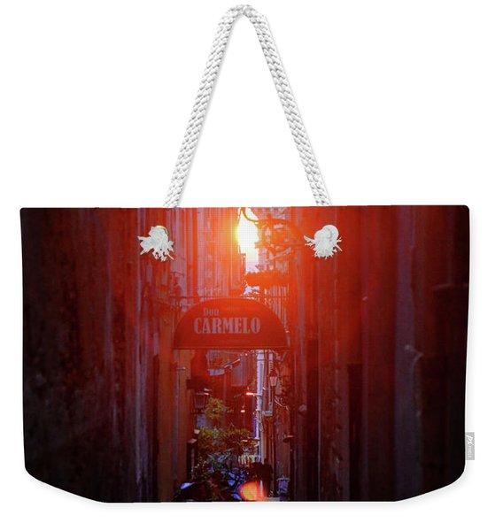 Ortygia Sunset Weekender Tote Bag