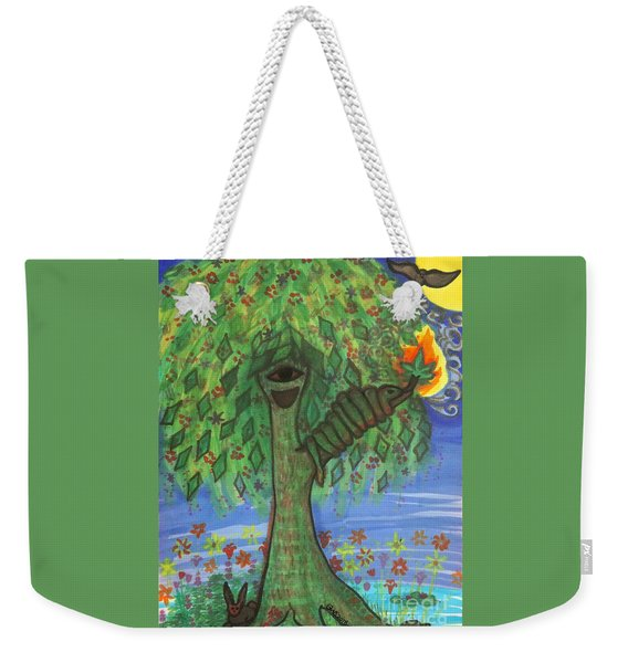 Osain Tree Weekender Tote Bag