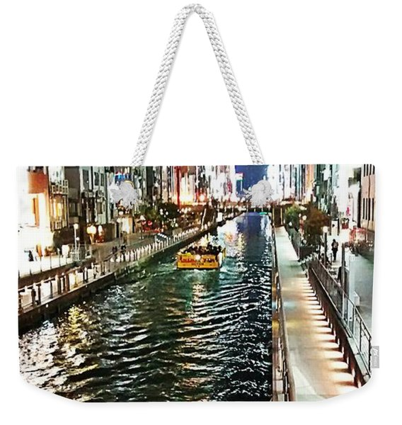 Osaka Waterway  Weekender Tote Bag