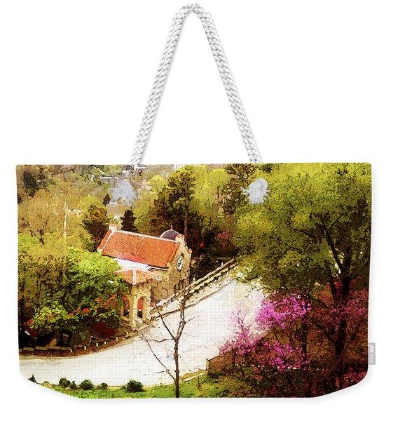 Osark Mountain Easter Weekender Tote Bag