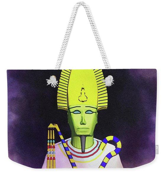 Osiris - God Of Egypt Weekender Tote Bag
