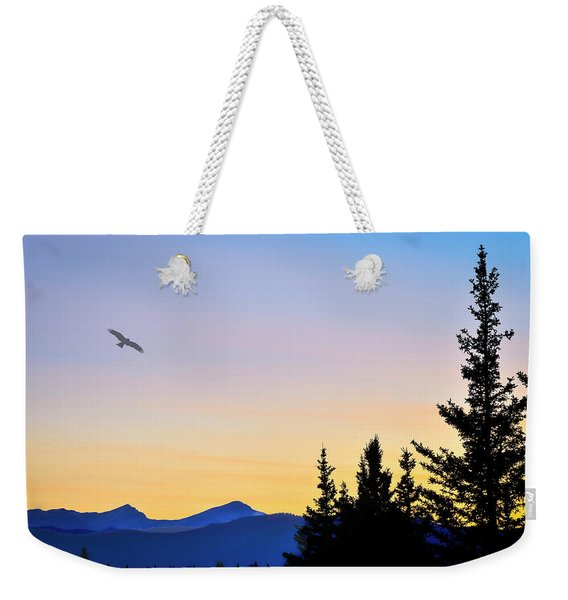 Osprey Against The Sunset Weekender Tote Bag