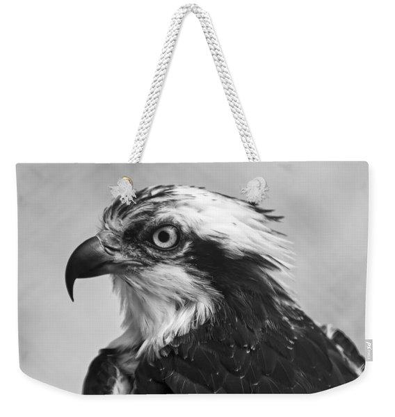 Osprey Monochrome Portrait Weekender Tote Bag