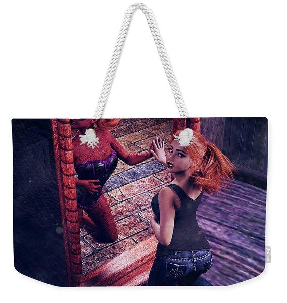 Other World Weekender Tote Bag