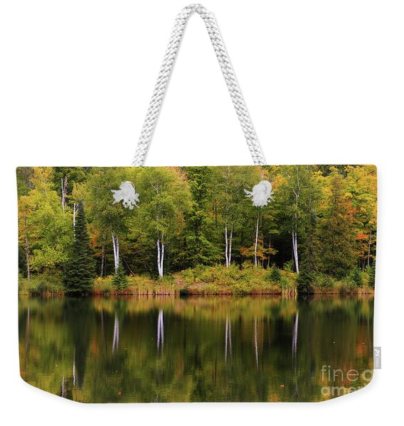 Our Autumn Song Weekender Tote Bag