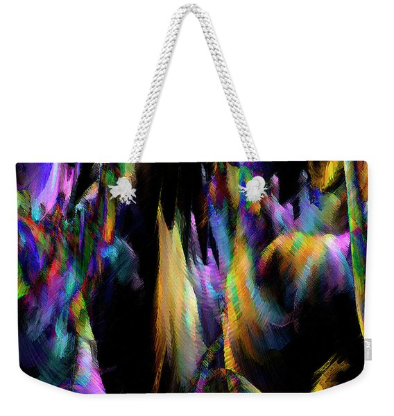 Our Colorful Planet Weekender Tote Bag