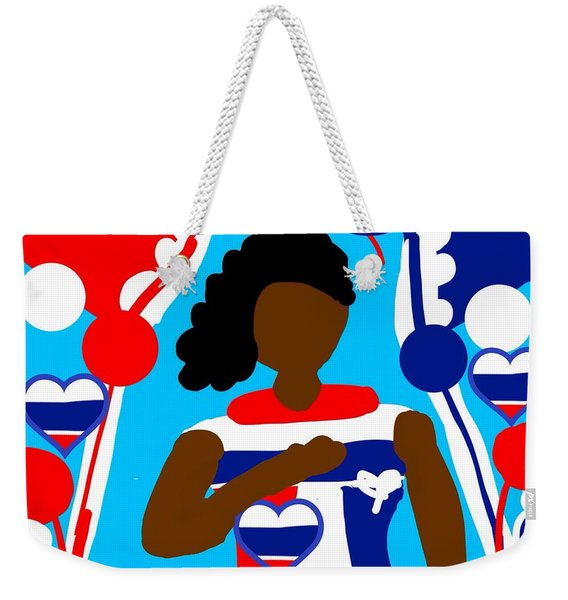 Our Flag Of Freedom 3 Weekender Tote Bag