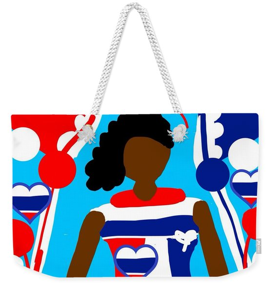 Our Flag Of Freedom  Weekender Tote Bag