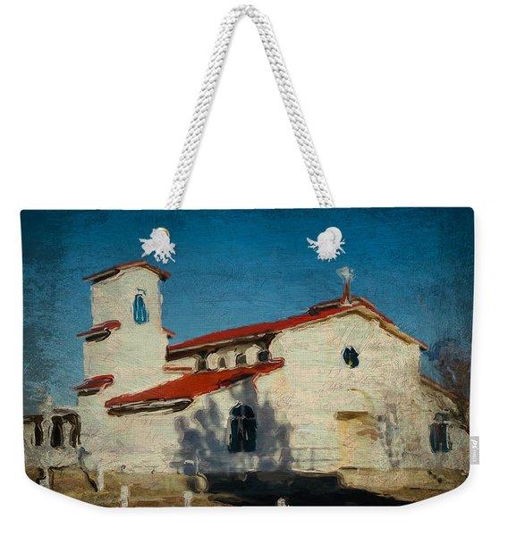 Our Lady Of La Salette Mission Paint Weekender Tote Bag