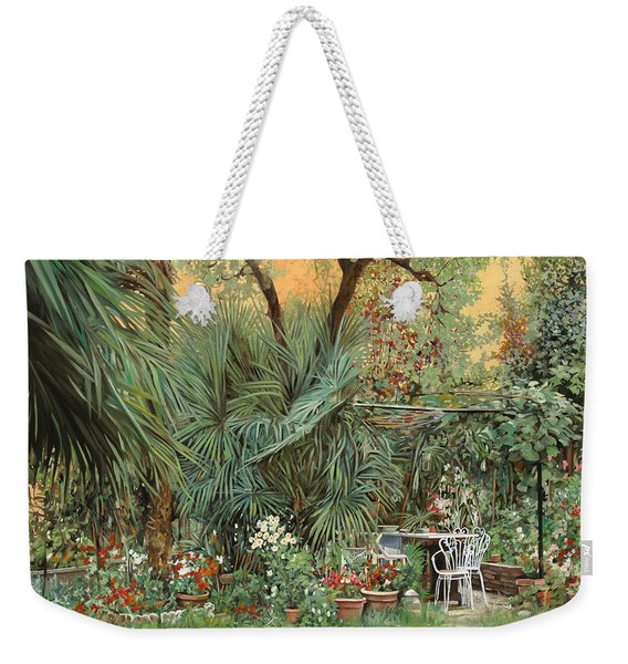 Our Little Garden Weekender Tote Bag