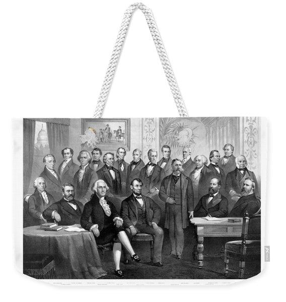 Our Presidents 1789-1881 Weekender Tote Bag