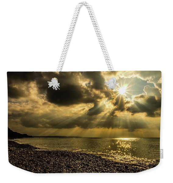 Weekender Tote Bag featuring the photograph Our Star by Nick Bywater
