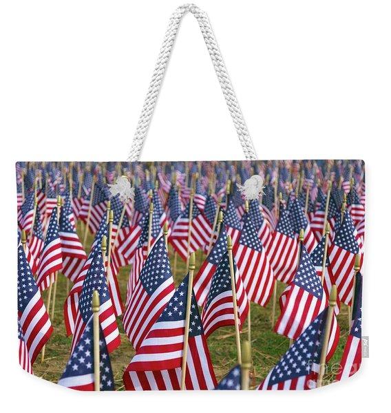 Our Unforgotten Freedom Weekender Tote Bag
