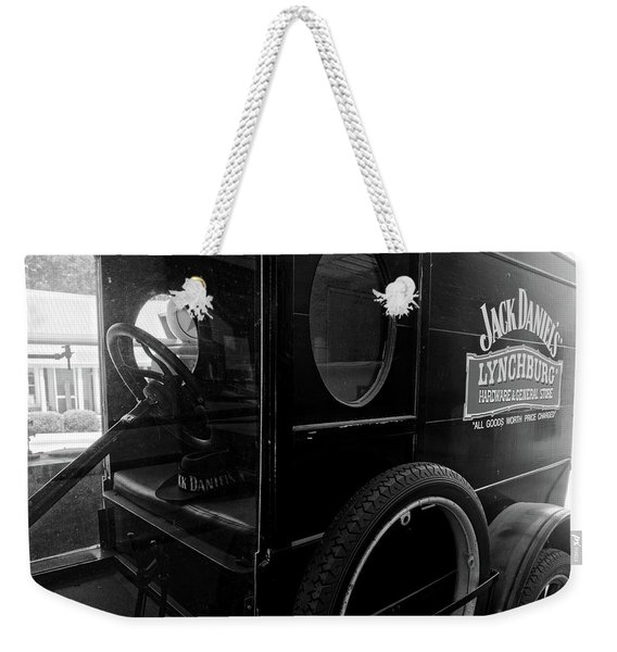 Out For Delivery Weekender Tote Bag