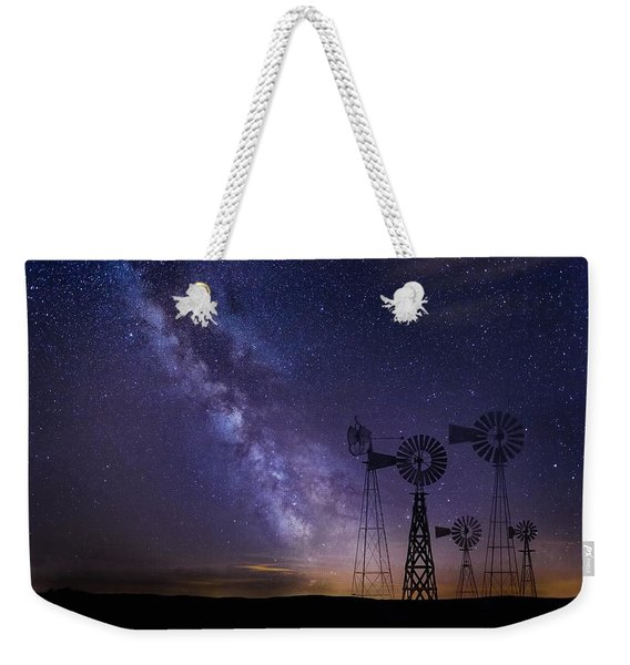 Our Milky Way  Weekender Tote Bag