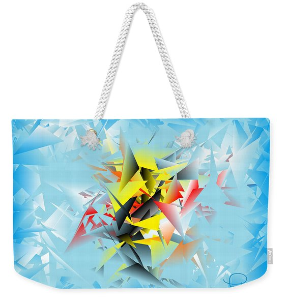 Out Of The Blue 5 Weekender Tote Bag