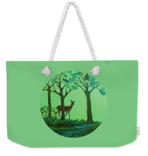 Out Of The Forest Weekender Tote Bag