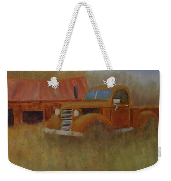 Out To Pasture Weekender Tote Bag